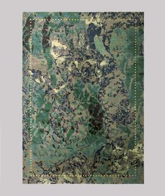 Post Design Collection 2012 #stains #rug #carpet #green
