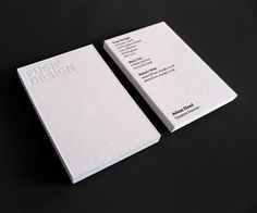 Fuse Design | Lovely Stationery #debossing #cards #business #stationery