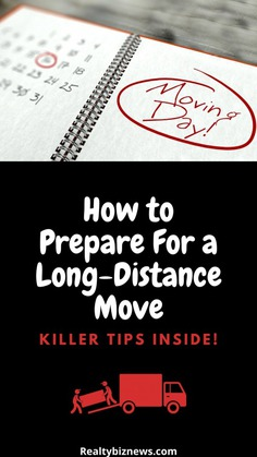 Tips to Prepare to Move Long-Distance