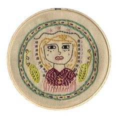embroidery - Leah Rials #embroidery