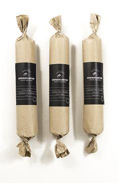 Newsbury & Watson #white #black #salami #sausage #pork #newsbury watson