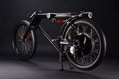 1966 honda P25 motorcycle designed as a 360 degree surveilance unit #honda