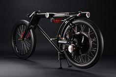 1966 honda P25 motorcycle designed as a 360 degree surveilance unit #honda