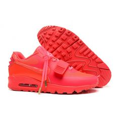Nike Shoes Air Max 2014 Yeezy Ii 2 Sp 90 the Devil Series West Mens All Peach Re ...