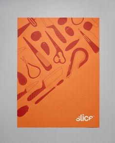 Manual: Hi-Res Images | September Industry #branding #slice #digital #identity #poster