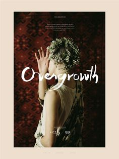 Yo ! Head over to overgrowth.bigcartel.com, buy yourself a print by Parker Fitzgerald Himself and you will get yourself one of these 18 x 24 #design #overgrowth #floral #portrait #minimal #poster #aztec #type #typography
