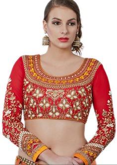 full sleeve blouse design