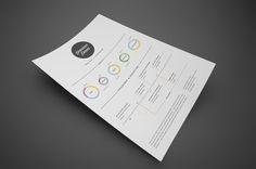 Resume / Curriculum Vitae on the Behance Network #resume #cv