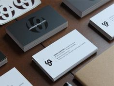 Dribbble - UG Essentials by Usman Group #lettering #branding #business #card #print #logo #typography