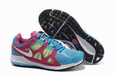 Nike Zoom Elite 5 Running Shoe Soar White Pink Volt Womens #shoes