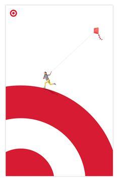 Target Branding Allan Peters #print #advertising #poster #target #allan peters