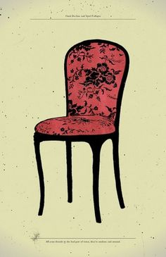 All sizes | Final Decline & Total Collapse | Flickr - Photo Sharing! #gerace #chair #illustration #anthony