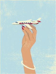 Tatsuro Kiuchi #illustration #plane #japan