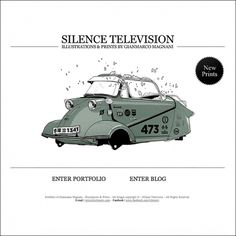 Silence Television - Blog #illustration #design #tv #silence