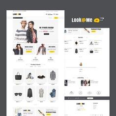 #LookMe - #Opencart #MultiPurpose #Responsive #Theme | #TemplateTrip #eCommerce #Website #Design #Template