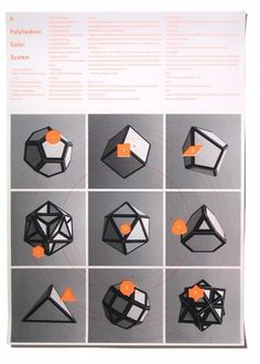 Print Club London | shop | polyhedron_solar_system #print #design #graphic