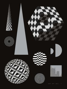 Irradié #poster #illustration #opart