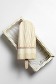 CJWHO ™ (WOODEN POPSICLE by Johnny...) #design #art #wood #clever #crafts #popsicle