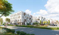 Seaside apartments - dizonaurai #exterior #render
