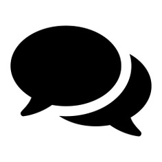 See more icon inspiration related to chat, comment, social, chat box, speech bubbles, speech balloons and chat option on Flaticon.