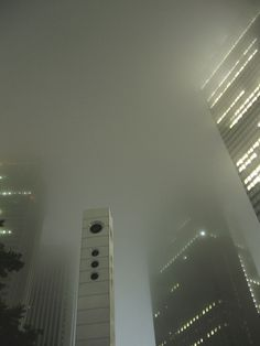 Foggy metropolis #photography #fog #skyline #scyscraper