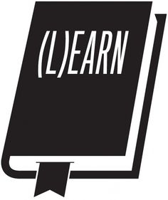 Neuarmy (L)earn #white #black #illustration #knowledge #and #type #learnearn