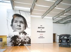 Marina Abramovic for MoMA :: AH! #abramovic #gallery #graphics #installation #environmental #marina #museums #moma