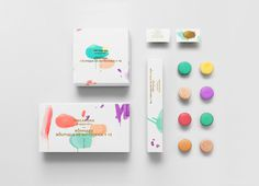 Colorful Branding #packaging #colors