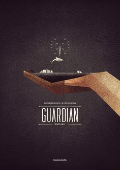 The Guardian Poster by ripplgames #illustration #guardian #poster