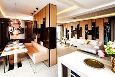 Feminine Apartment by IDEA Studio - #decor, #interior, #homedecor,