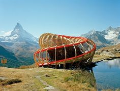 Student Works: Evolver - Archinect #swiss #alps #architecture