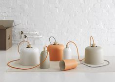 Fuse lamps by Note Design Studio for Ex.t Dezeen