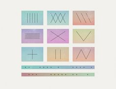 The Same But Different : Jan Avendano #color #graphic #shapes #grid #art
