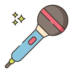 See more icon inspiration related to sing, music, audio, music and multimedia, hobbies and free time, karaoke, dancing, singer, microphones, electronics, conference, communications, song, voice, microphone, bar, party, tools and tool on Flaticon.