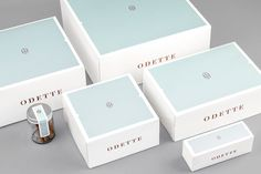 odette branding patisserie warsaw poland beautiful minimal corporate design copper foil macarons best design inspiration designblog www.mind