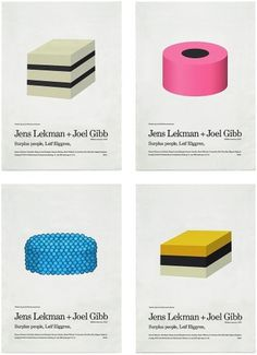 Lekman/Gibb Posters : Klas Ernflo #klar #ernflo #design #graphic #illustration #poster #music