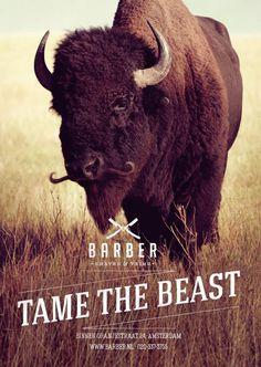 Barber Shaves #print