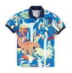 Lacoste L!ve | Micah Lidberg on Behance #live #lacoste #pattern #apparel #shirt #illustration