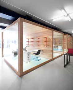 Office1 #design #wood #office #interior #good #brick #common