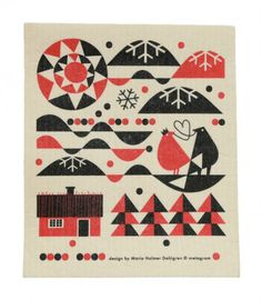 Maria Dahlgren Dish Towels | For Me, For You