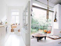 white kitchen #interior #design #decor #deco #decoration