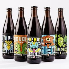 Kaiju Beer #packaging #beer #craft