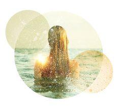 http://solo71.tumblr.com/ #ocean #sun #girl #overlays #texture #summertime