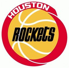 HOUSTON ROCKETS LOGO 1970s-1990s #houston #basetball #logo #nba #rockets