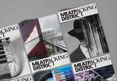 Base Design's new identity for New York's Meatpacking District #branding