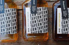 pattern, packaging, typography // cwisnieski_tavernvinegar_01