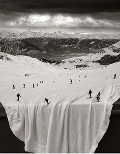 FFFFOUND! #white #snow #sky