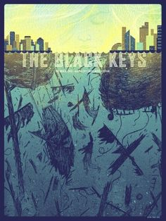 GigPosters.com - Black Keys, The #gig poster #black keys