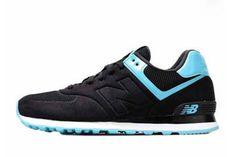 Mens new balance MS574BP Sonic Black Treasure Blue Shoes #fashion