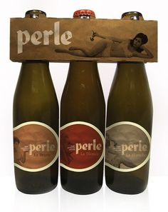 La Perle on the Behance Network #packaging #beer